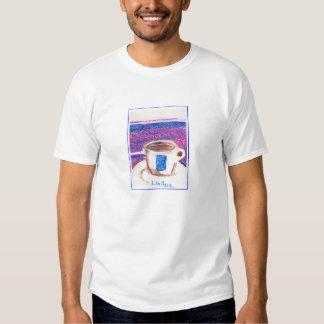 copo de café do lavazza t-shirt