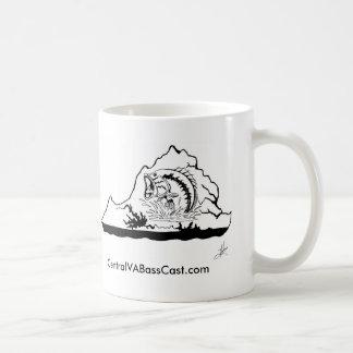 Copo de café do logotipo dos peixes caneca