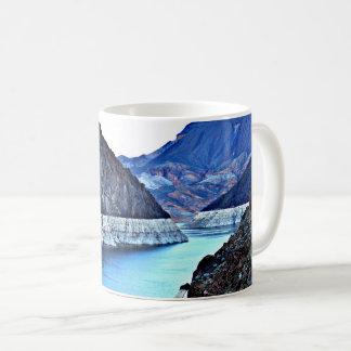 Copo de café do Rio Colorado do barragem Caneca De Café