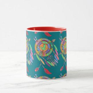 Copo de café do sudoeste do nativo americano da caneca