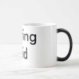 copo de café {líquido começar} caneca mágica