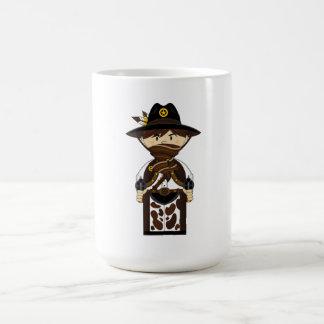 Copo de café mascarado do xerife do vaqueiro canecas