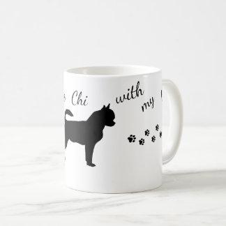 Copo de chá da caneca da chihuahua