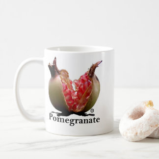 Copo de chá da caneca da romã
