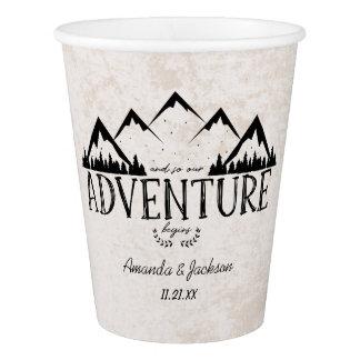 Copo De Papel A aventura das montanhas começa a Wedding o