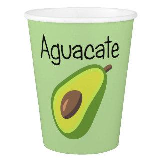 Copo De Papel Aguacate (abacate)