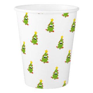 Copo De Papel Árvore de Natal