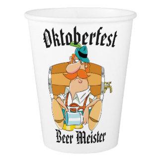 Copo De Papel Cerveja Meister de Oktoberfest