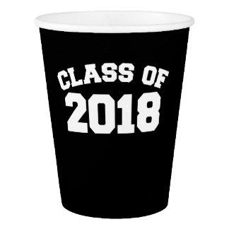 Copo De Papel Classe de 2018