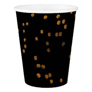 Copo De Papel Confetes bonitos de Jack O'Lantern