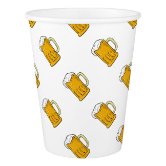 Copo De Papel Desenho da caneca de cerveja