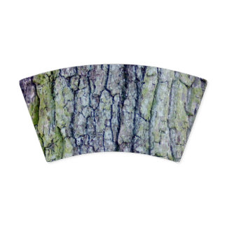 Copo de papel: Design do latido de árvore