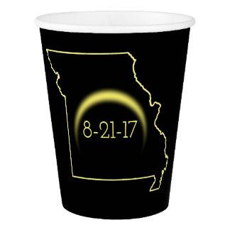Copo De Papel Eclipse solar total Missouri 2017