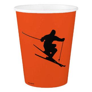 Copo De Papel Esquiador