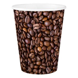 Copo De Papel Feijões de café!