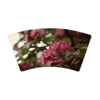 Copo de papel feito sob encomenda das flores