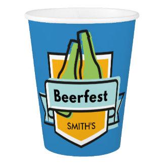 Copo De Papel Festival feito sob encomenda de Oktoberfest
