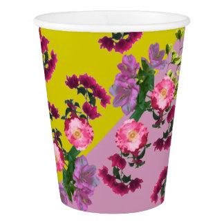Copo De Papel Impressão floral macio por Zala02Creations