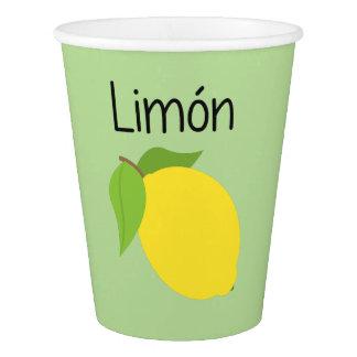 Copo De Papel Limon (limão)