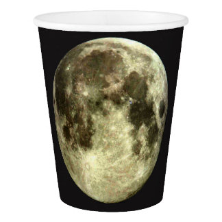 Copo De Papel Lua cheia