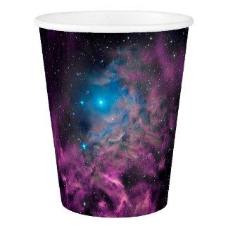 Copo De Papel Nebulosa flamejante da estrela