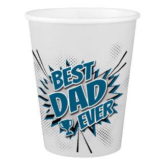 Copo De Papel O melhor pai nunca