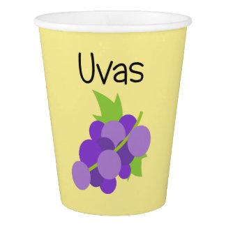 Copo De Papel Uvas (uvas)