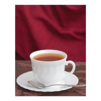 Copo do chá panfleto coloridos