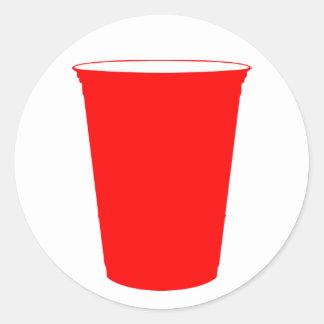 copo do partido adesivo