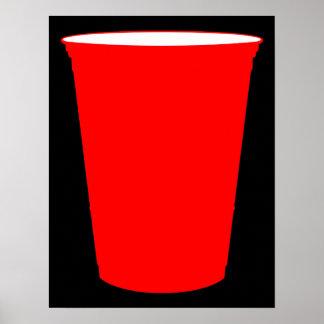 copo do partido pôster