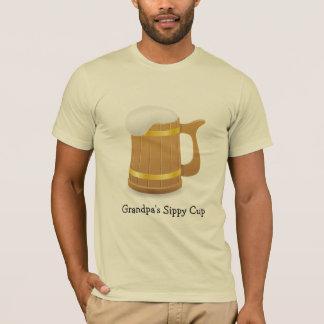 Copo do Sippy do vovô (customizável) Camiseta