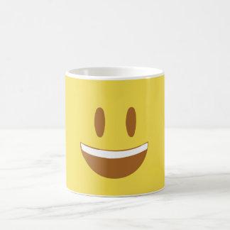 Copo feliz caneca de café