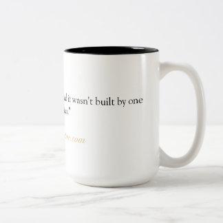Copo inspirado da caneca do chá do café das