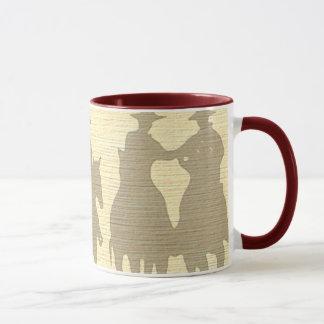 Copo ocidental da caneca de café do ajuntamento