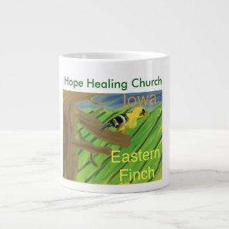 Copo oriental da caneca de café do passarinho do