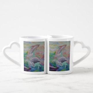 Copos do golfinho canecas para apaixonados