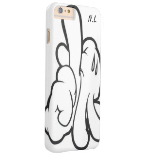 Coque iPhone mickey' s band by N.L Capa Barely There Para iPhone 6 Plus
