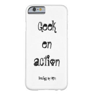 """Coque pour iPhone 6 """"Geek em acção"""" by REN Capa Barely There Para iPhone 6"""