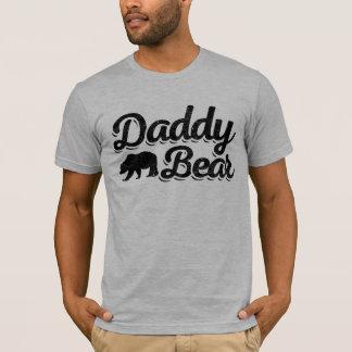 Cor clara do urso do pai camiseta