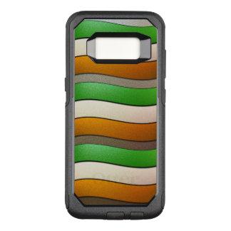 Cor-Cromo da bandeira de Ireland por Shirley Capa OtterBox Commuter Para Samsung Galaxy S8