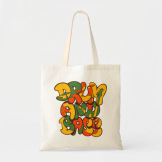 cor da reggae do cilindro e do baixo - logotipo, bolsa tote