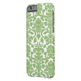 Cor damasco - branco verde capa barely there para iPhone 6