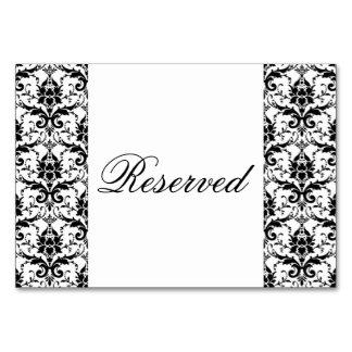 Cor damasco preta elegante que Wedding o evento