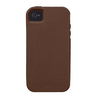 Cor de Brown Capa Para iPhone 4/4S
