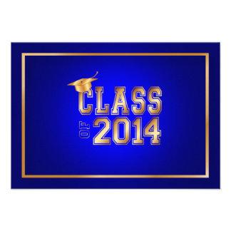 Cor de PixDezines graduation/DIY/boné do ouro Convite Personalizado