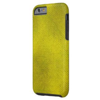 COR DE TEXTURED/ABSTRACT DESIGN/GREENISH-YELLOW CAPA TOUGH PARA iPhone 6