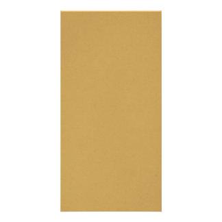 Cor do camelo cartão com foto