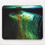 Cor do movimento/fluorescência na água mousepad