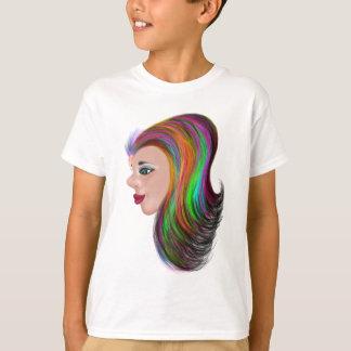 Cor do salão de beleza camiseta