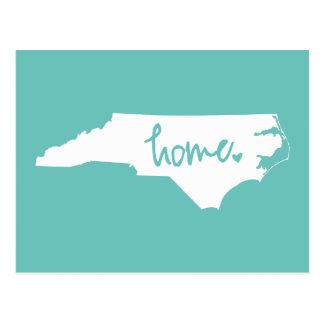Cor Home do costume de North Carolina Cartão Postal